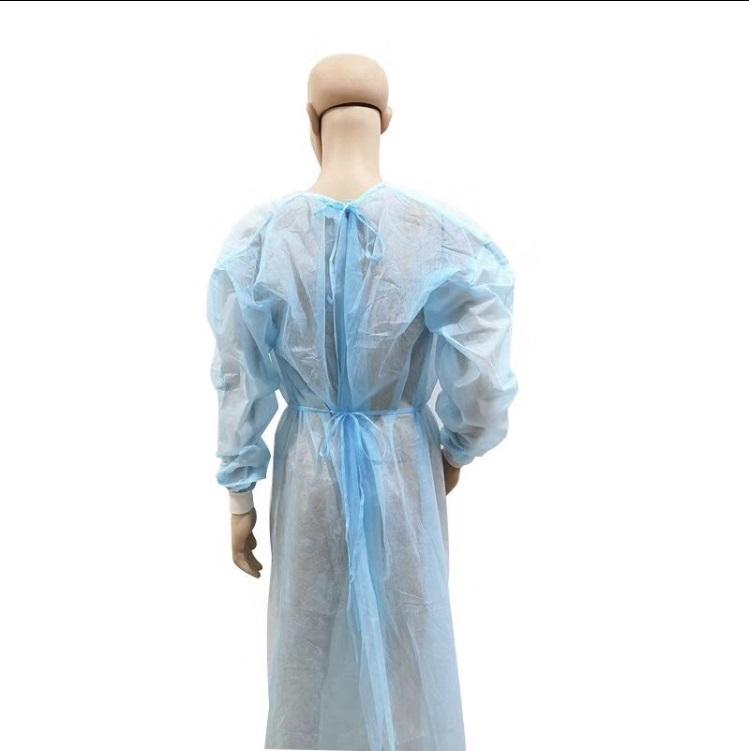 vue arrière blouse médicale